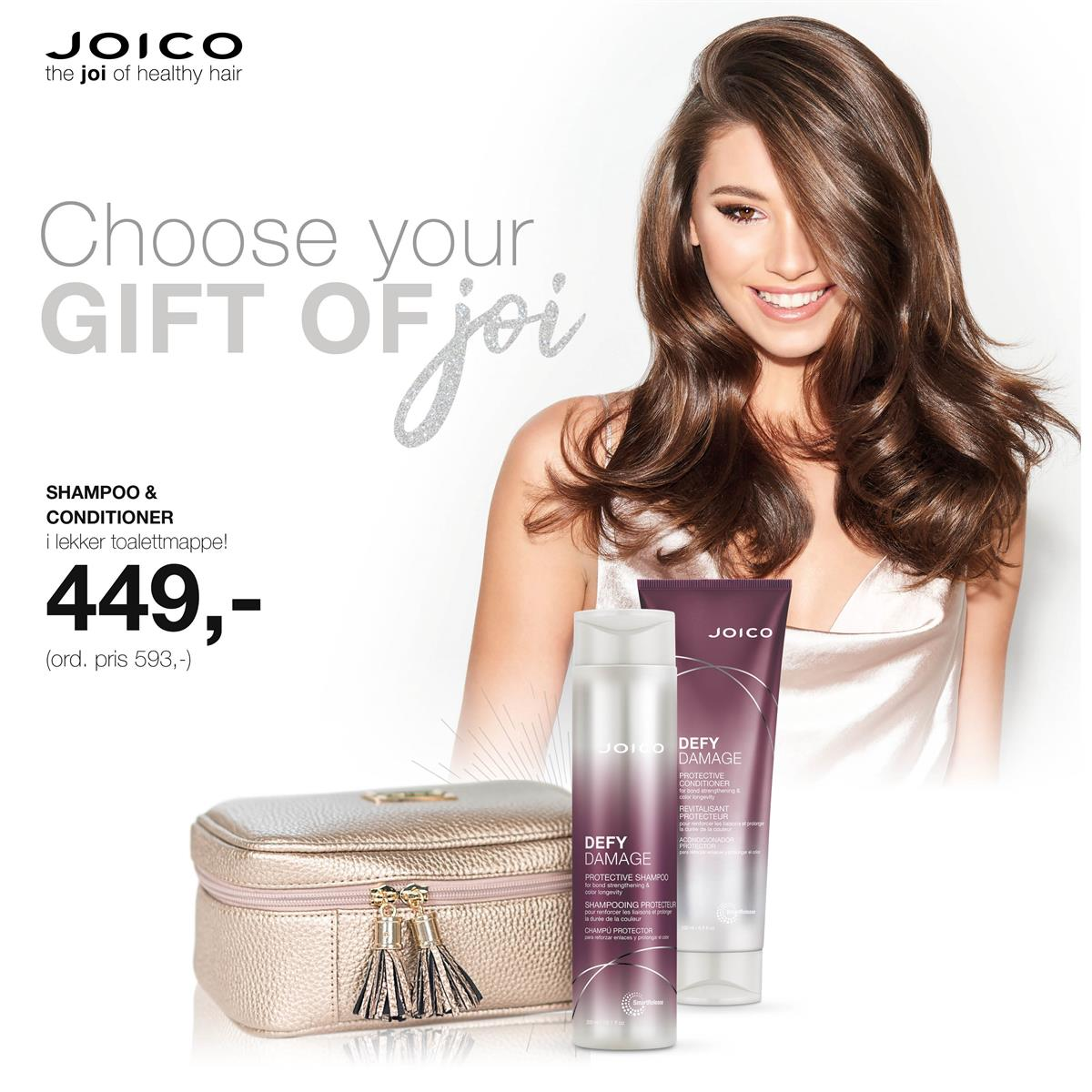 JOICO DEFY DAMAGE - KAMPANJE NOVEMBER 2019