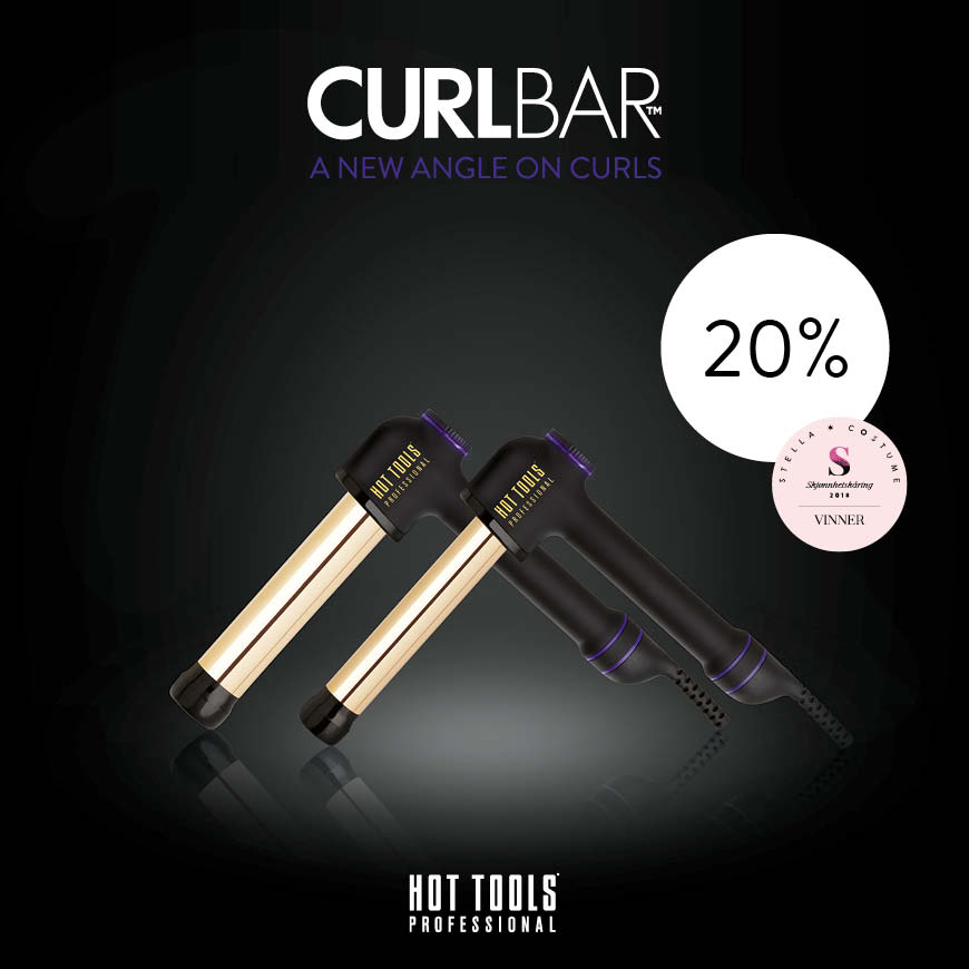 HOT TOOLS - CURL BAR - KAMPANJE AUGUST 2019