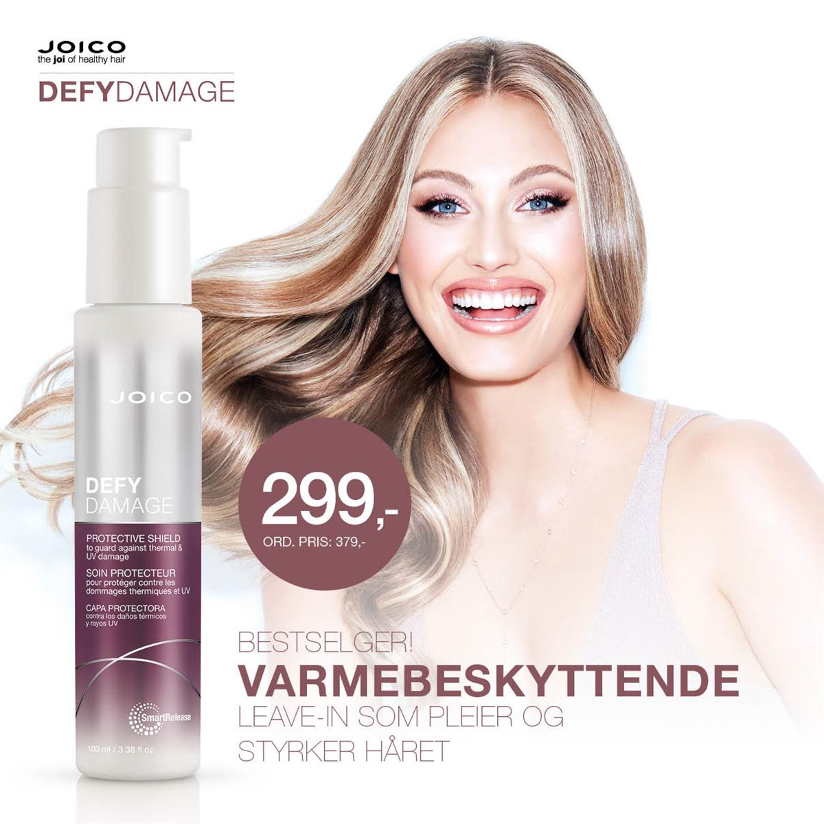 JOICO DEFY DAMAGE SHIELD - KAMPANJE JANUAR 2020
