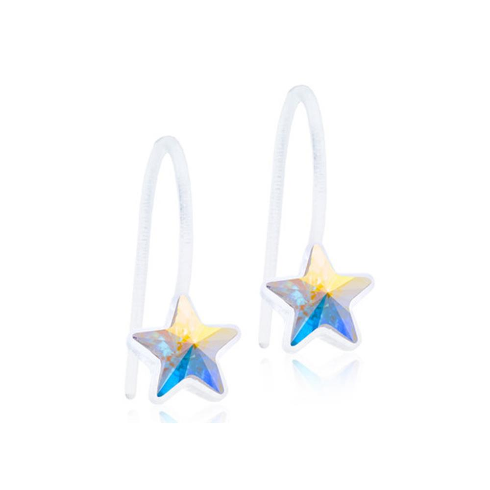 CJ MP PENDANT FIXED STAR RAINBOW 6MM
