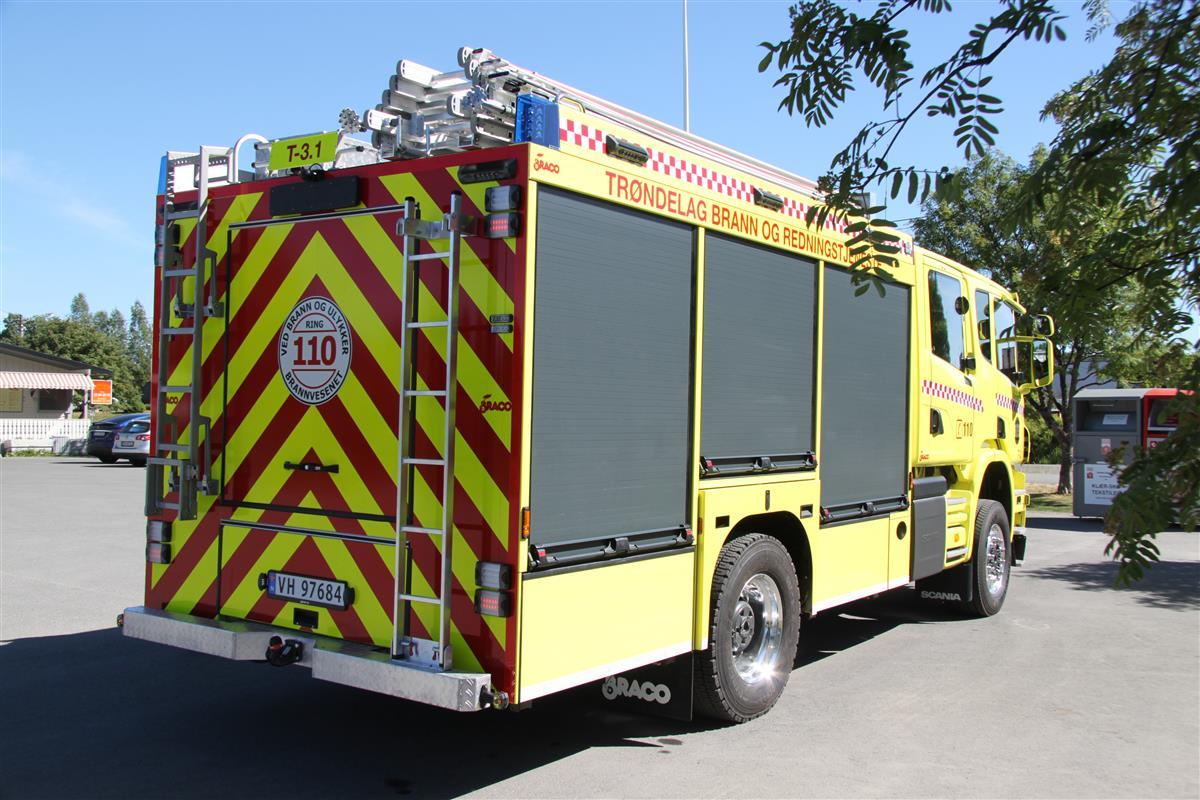 908bf8b15 Braco - Leverte biler - Trøndelag brann og redningstjeneste IKS