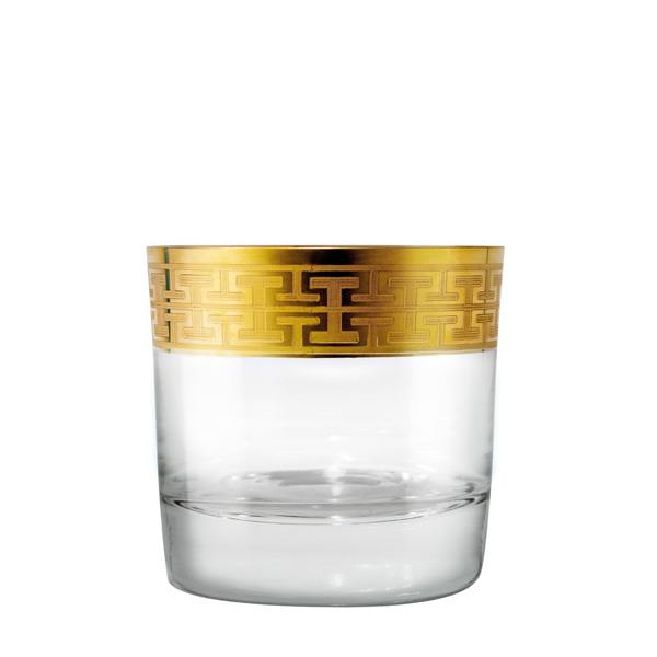 2 pack: Whisky Glass Hommage Gold (S) 284ml