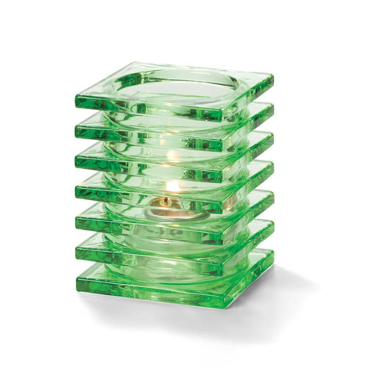 Stacked Square Block Lampeglass Lime til HD26