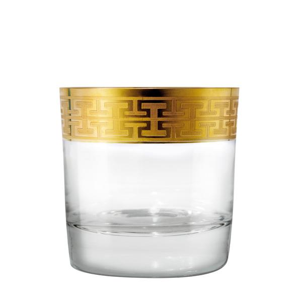 2 pack: Whisky Glass Hommage Gold (L) 397ml