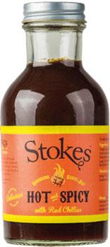 Hot & Spicy BBQ Sauce Stokes 315g