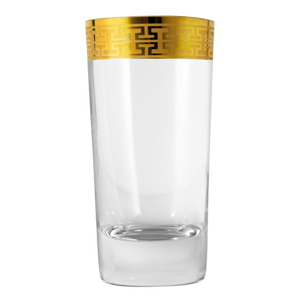 2 pack: Longdrink Glass Hommage Gold (L) 468ml