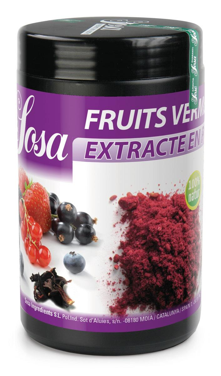 Red Fruits-Hibiscus Extract Sosa 500 g.
