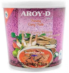 Curry Paste 24x400gr. Aroy-D Panang  AF