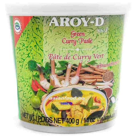 Grønn Curry paste 24x400g.  AF