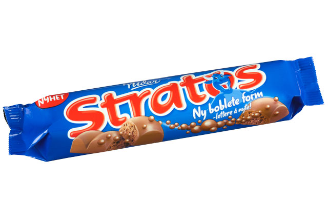 Stratos bar melk 30x45gr.  Nidar