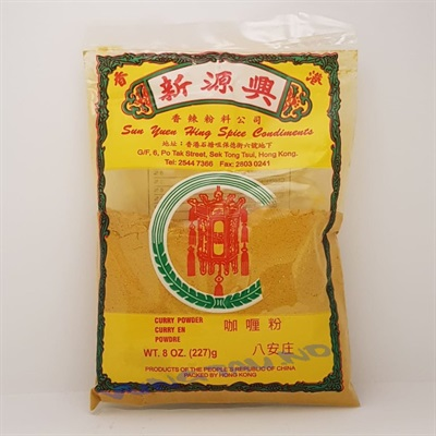 Curry Powder 227gr. (100poser pr.krt)(skaffevare)  Scanasia
