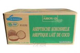 Kokosmelk AROY-D 20ltr Bag In Box  Scanasia