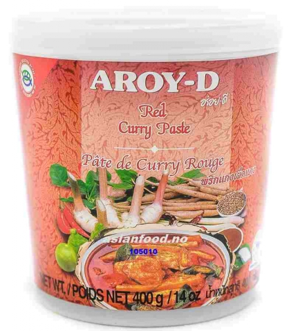 Rød Curry Paste 24x400ml  AF