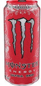 Monster Ultra Red 24x0,5ltr BOX  Coca Cola