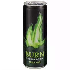 Burn Apple Kiwi 12x0,5ltr BOX  Coca Cola