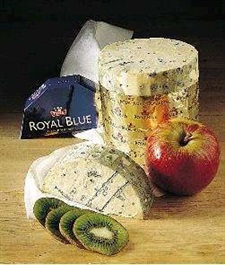 Royal blue ost ca.900gr.  Tine