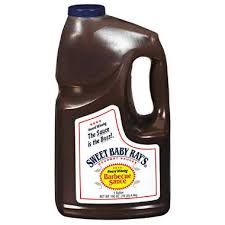 Barbeque Saus hickory Sweet Rays 3,8ltr  Haugen