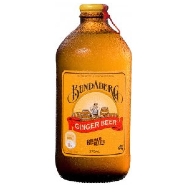 Bundaberg Ginger 12x375ml Glassflaske  KKD