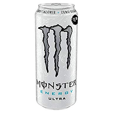Monster Ultra White 24x0,5llr BOX  Coca Cola