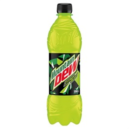 Mountain Dew Sugar Reduction 24x0,5ltr  Ringnes