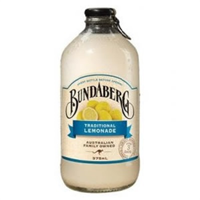 Bundaberg Lemonade Trad.12x375ml Glassflaske (skaffev.)  KKD