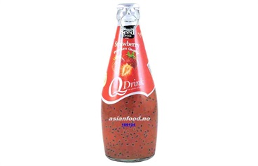 Basil Seed Drink Strawberry 24x290ml  AF