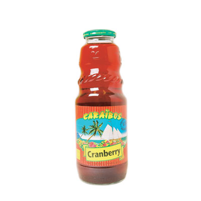Cranberry Nectar Caraibos 1ltr.  Barkonsult