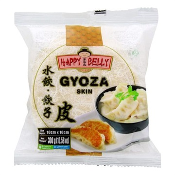 Gyoza Skin Happy Belly 100mm 30x300gr. FRYS  AF