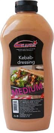 Kebabdressing Medium 900ml (6fl.pr.krt)  Kanda