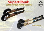 Combi Junior  pakke Goldski