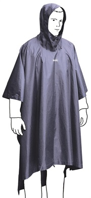 BIVY PONCHO (SF) - DARK BLUE