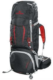 BACKPACK OVERLAND 50+10 red
