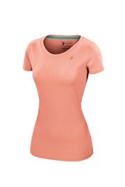 T-LOGO T SHIRT WOMAN peach