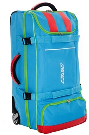 Big trolley bag 110L black/blue