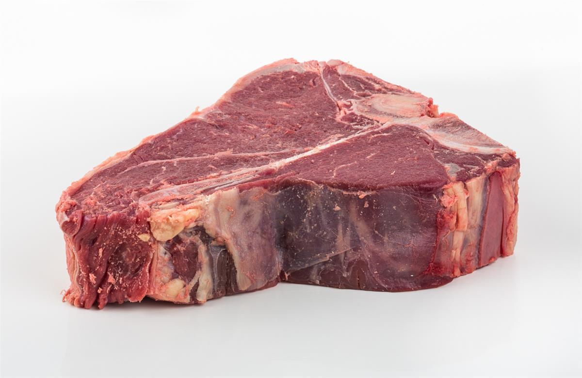 Storfe porterhouse steak