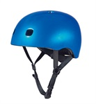 Micro PC Helmet Dark Blue Metallic S