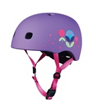 Micro PC Helmet Floral Purple S