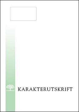 Omslag for karakterutskrift