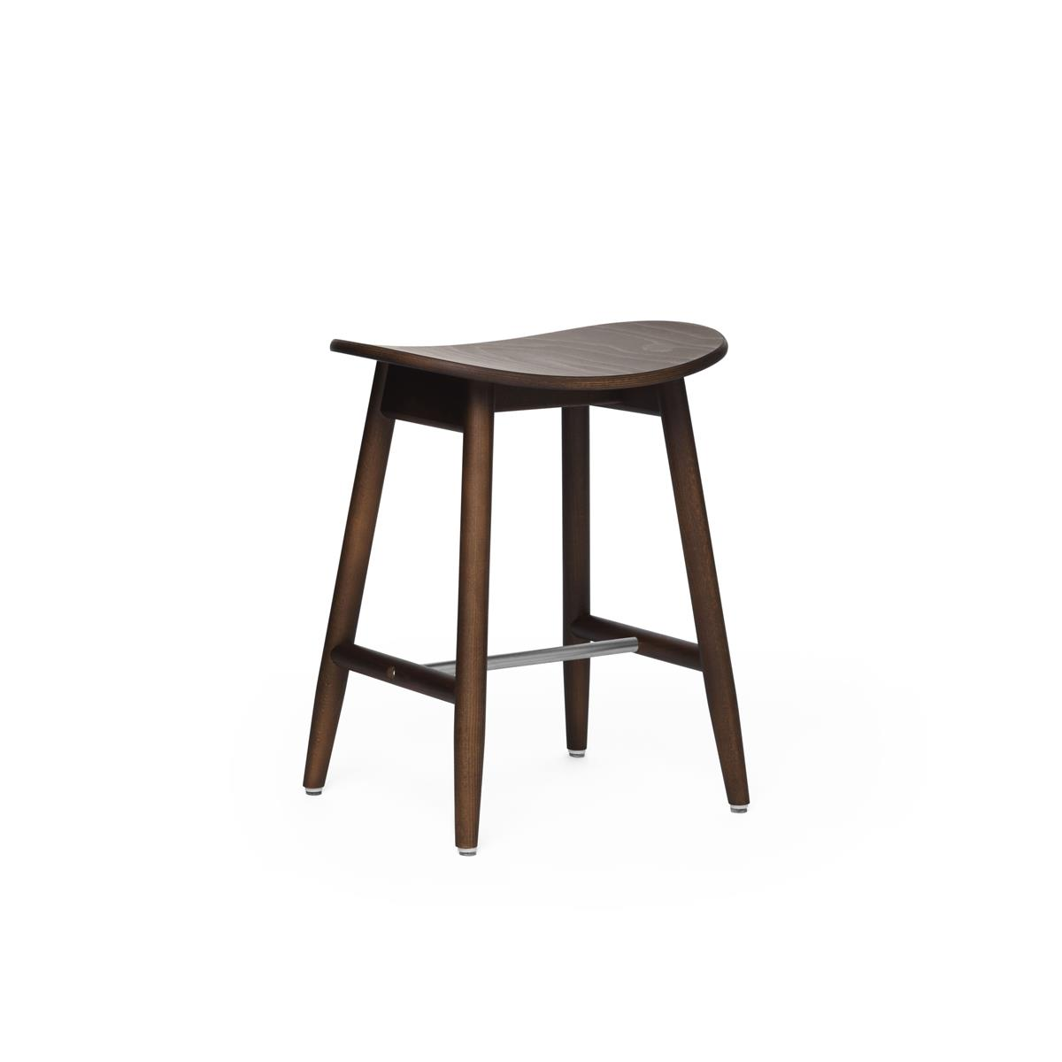 Icha Stool - Walnut Stained