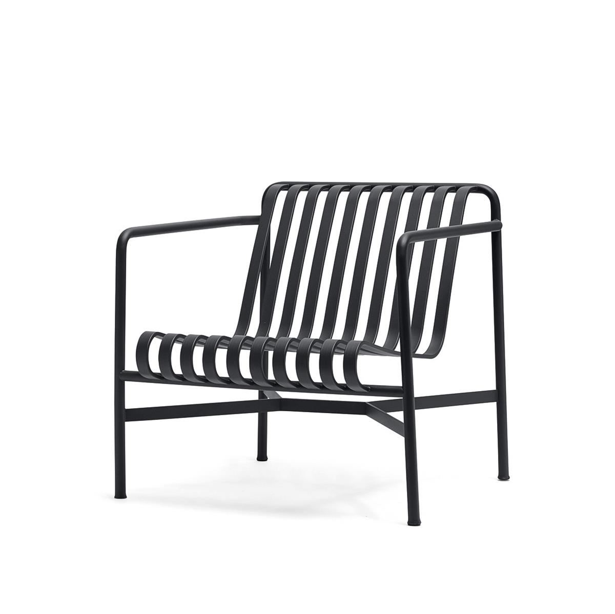 Palissade Lounge Chair Low - Anthracite