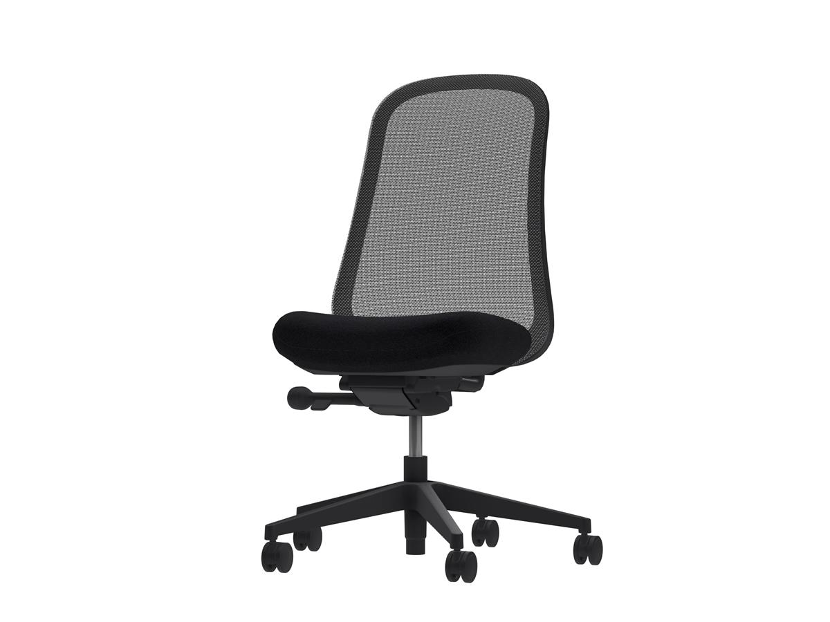 Lino Basic Task Chair - Black Edition