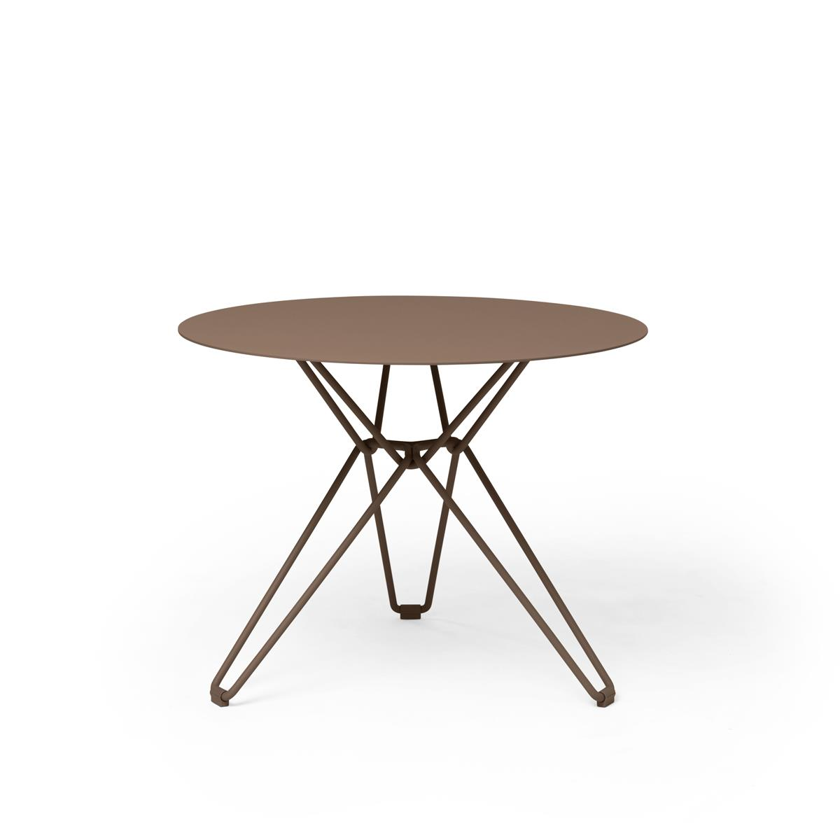 Tio Dining Table Ø60 x H72 cm - Pale Brown