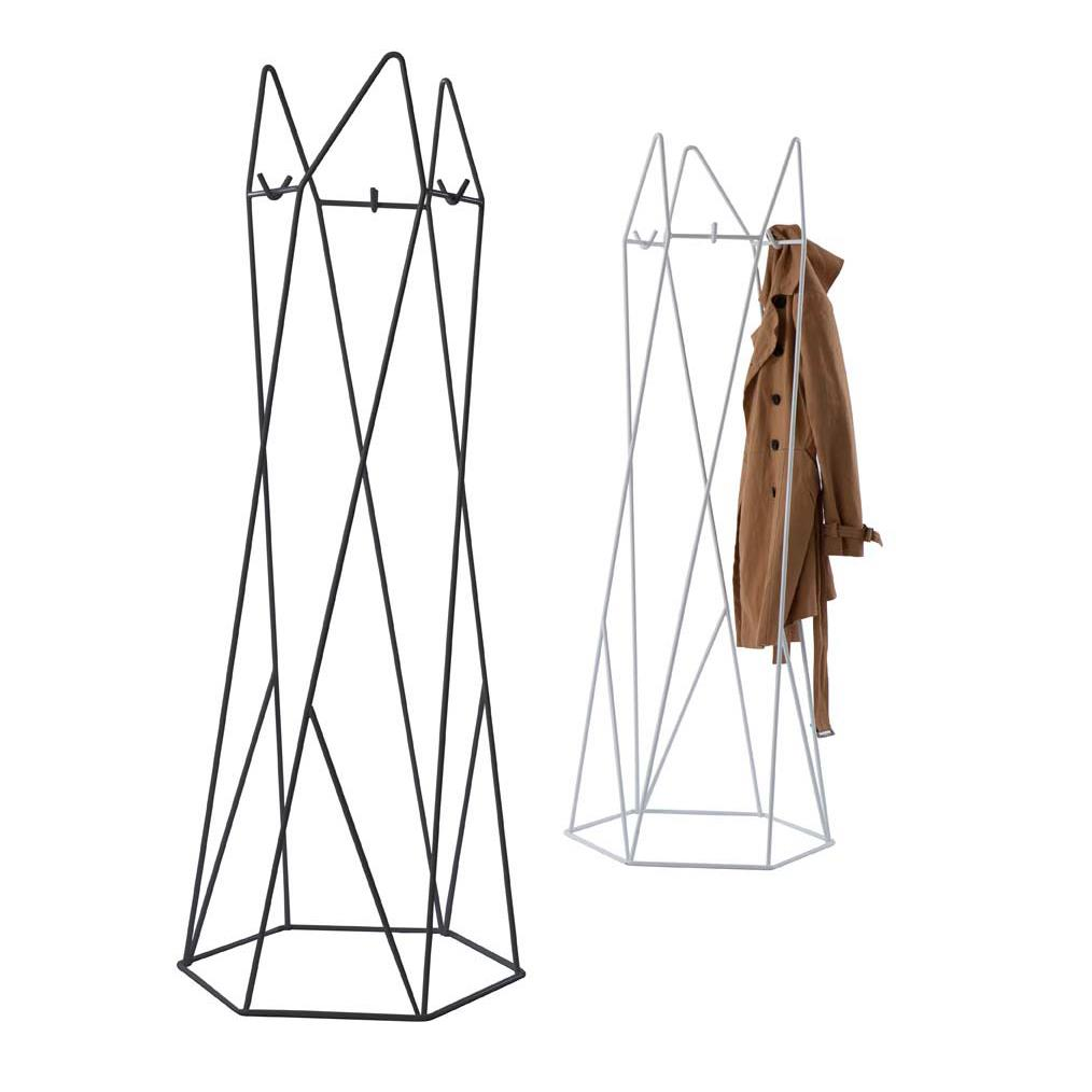Shard Coatstand - Jet black