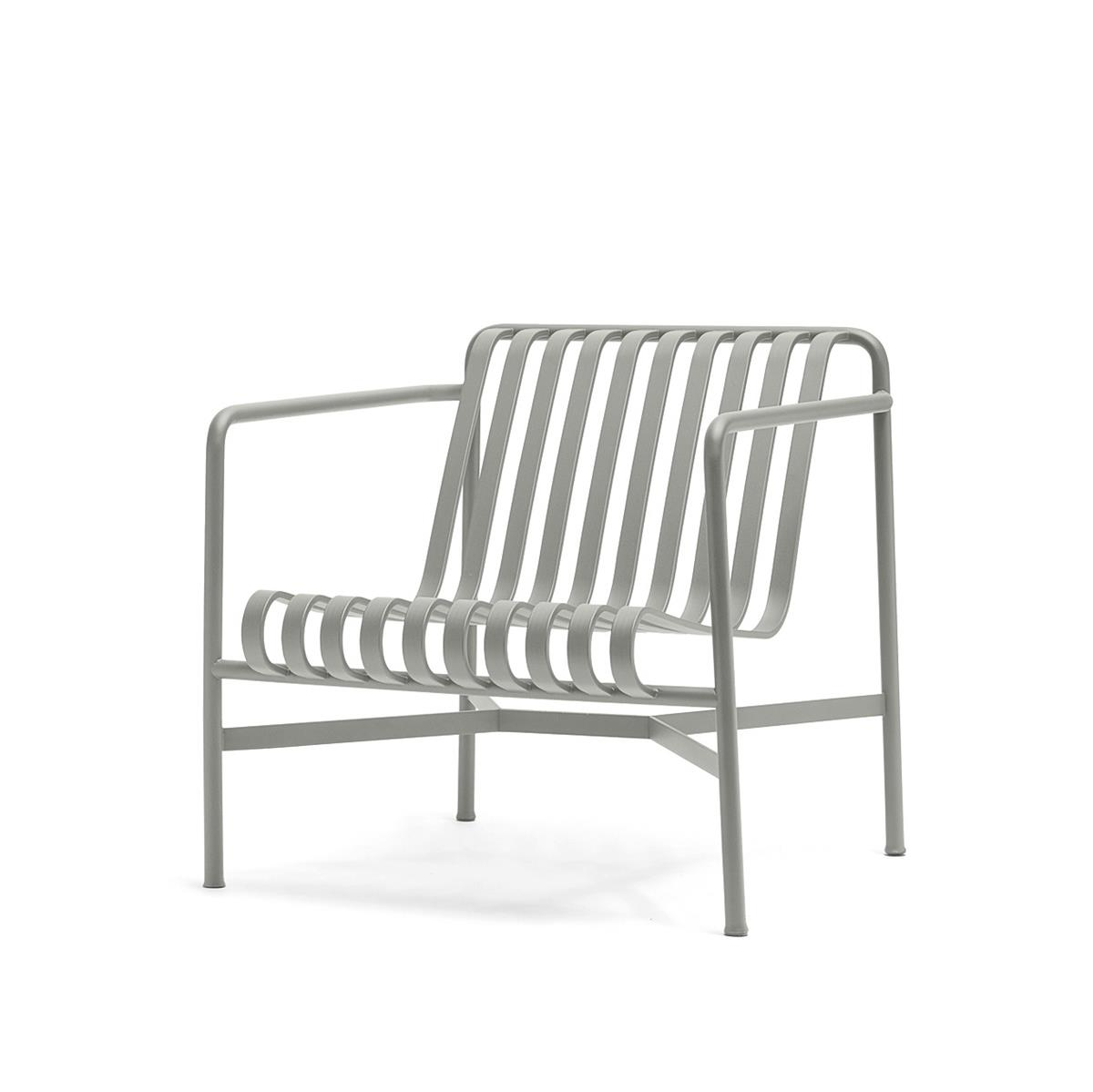Palissade Lounge Chair Low - Sky Grey
