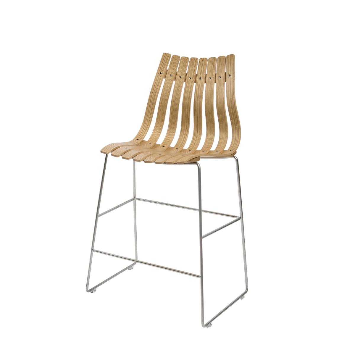 Scandia Bar Stool 65 - eik
