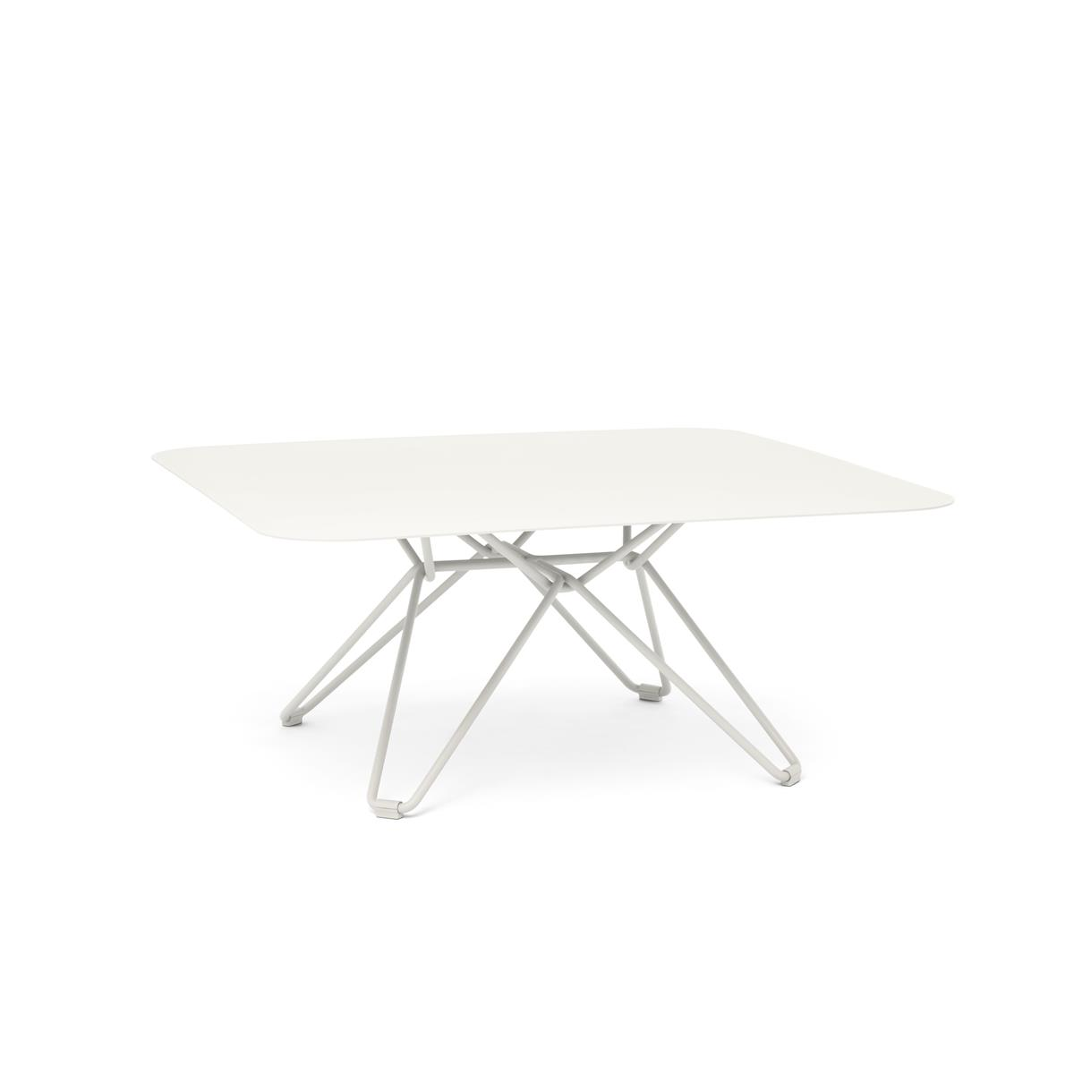 Tio Coffe Table 85x85 x H38 cm - White