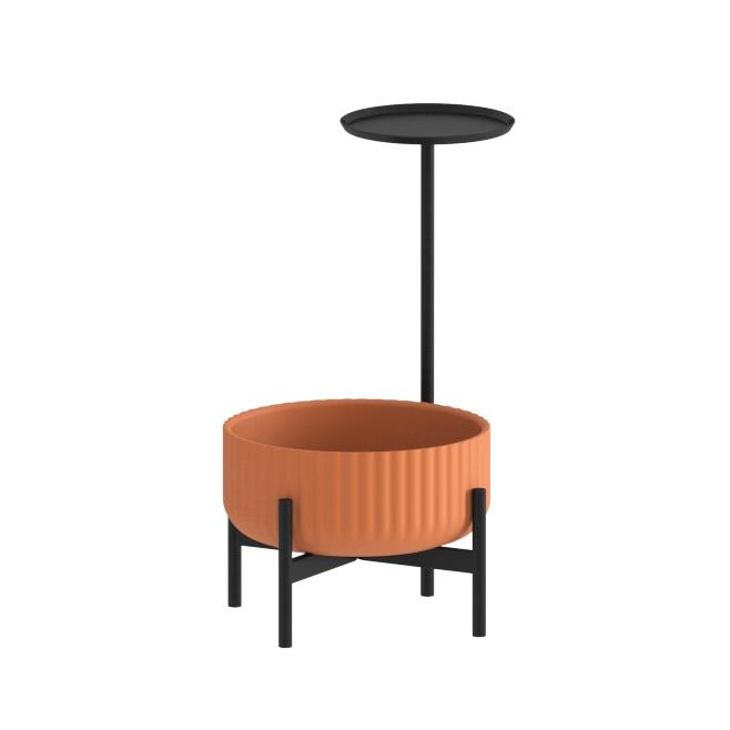 Klorofyll Low Base & Low Planter with Round Table