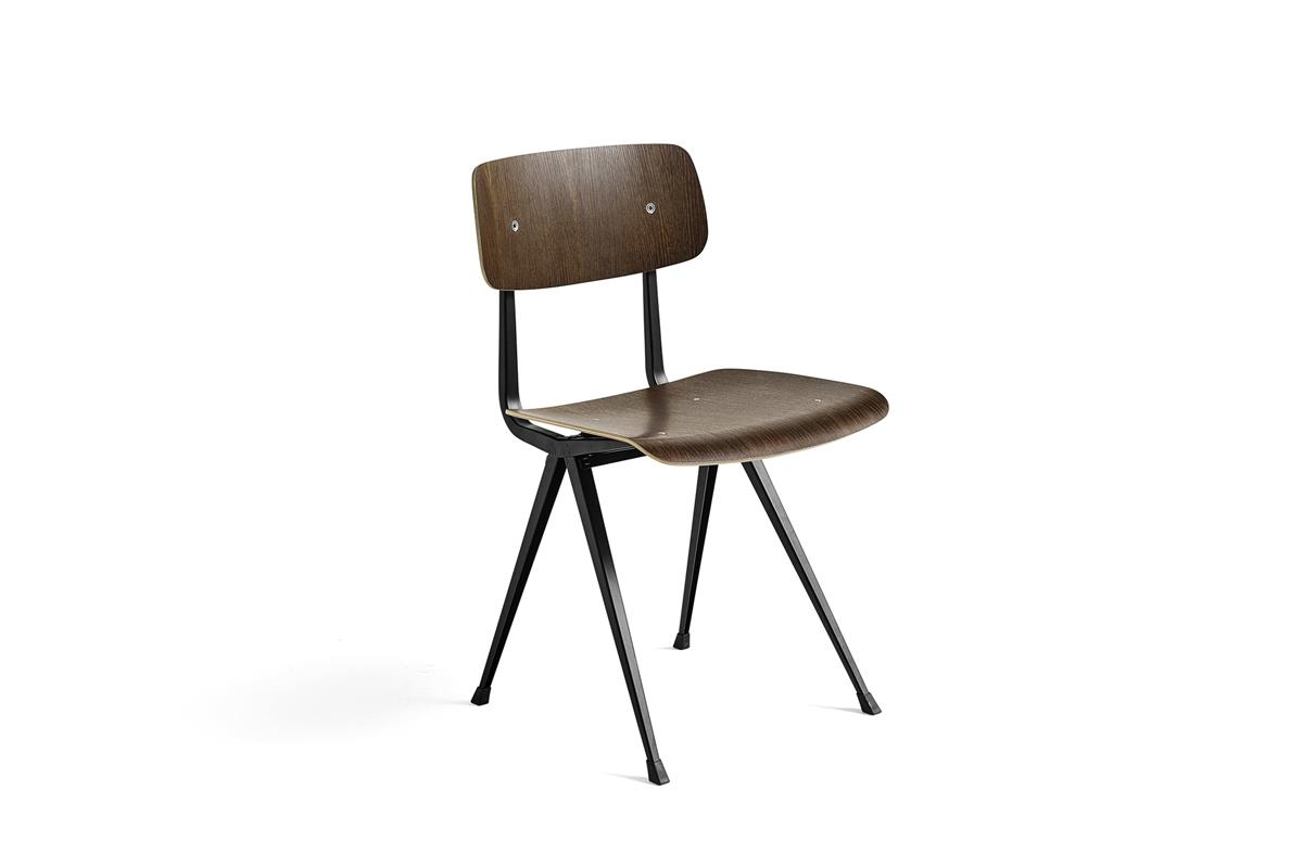 Result Chair - Smoked & Black