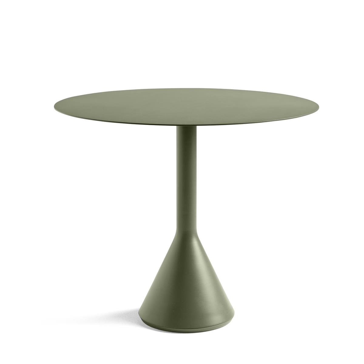 Palissade Cone Table Ø90 x H74 - Olive