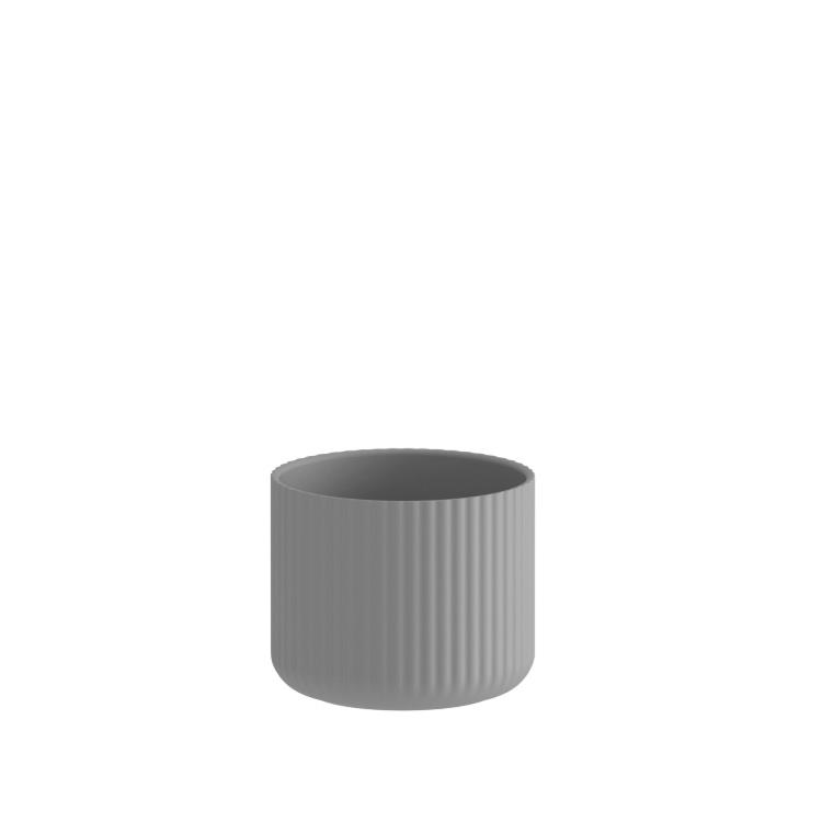 Klorofyll Medium Round Concrete Planter